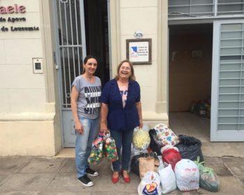 """Entrevista a Gladis Macedo: """"En CENAELE apoyamos a los enfermos de leucemia y sus familiares"""""""